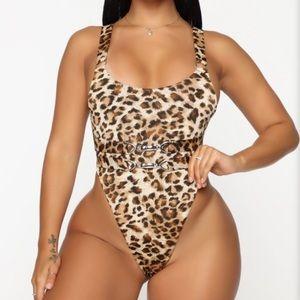 Fashion Nova Heat Wave Swimsuit in size Large